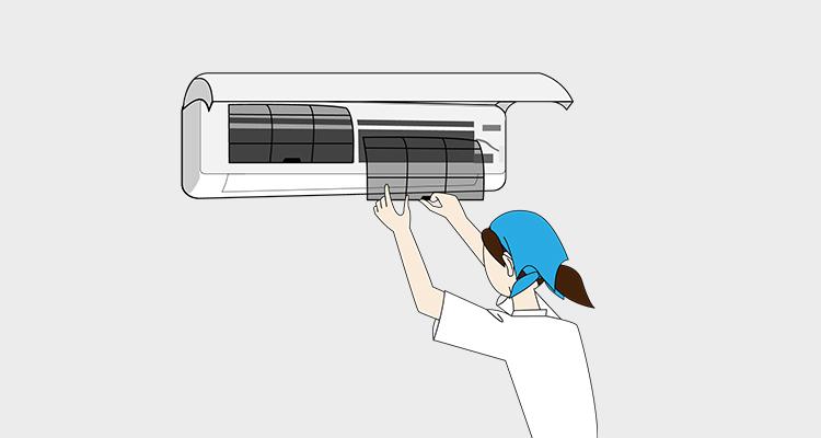 エアコン内部を掃除する理由