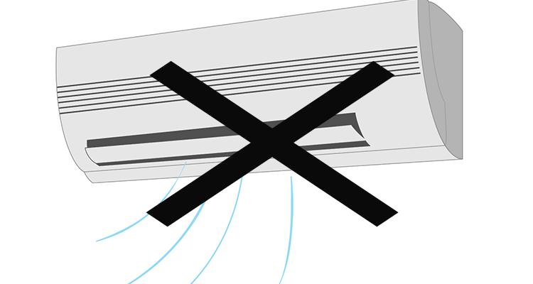 3.エアコン(室内機)から風が出ていない