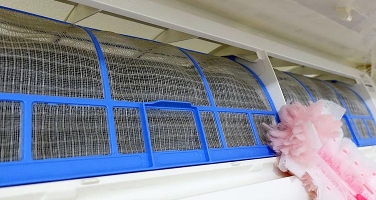エアコン内部(フィン)を掃除する際の注意点